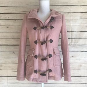 Boden Wool Toggle Peacoat With Hood